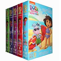爱探险的朵拉第六七八季全集儿童英语启蒙动画片25DVD光盘