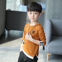 童装男童卫衣春装新款2018新品 中大儿童打底衫上衣韩版春秋季T恤