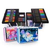 美乐 儿童绘画套装水彩笔 画画工具 蜡笔 油棒文具画笔礼盒礼物