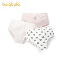 【2件6折:47.4】巴拉巴拉女童�妊�棉三角��和�短�中大童��力透�庥』ú�c三�l�b