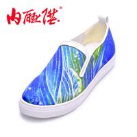 内联升大鱼海棠系列女鞋春夏秋季时尚休闲鞋女单鞋 DY6103