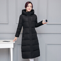 201808230505386502018 新款冬季外套韩版棉衣女中长款过膝羽绒学生棉袄加厚反季性感潮流 2X