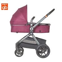 好孩子婴儿推车高景观可坐可躺宝宝双向避震手推车GB592