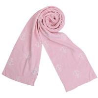 时尚围巾男女儿童冬天韩版潮百搭提花保暖毛线围巾针织围脖