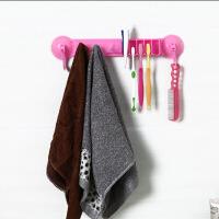 浴室置物架吸盘毛巾毛巾架 牙刷架挂钩卫浴挂毛巾架挂架 浴巾架卫生间浴室挂件