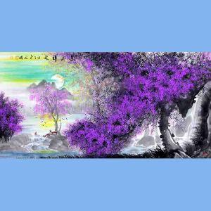中国青年美术家协会常务理事,中国扇子艺术学会会员,中国山水画院专业画家,山东美术家协会会员,国家一级美术师高云鹏(紫气祥云)