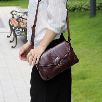 中年女包真皮头层牛皮包斜挎女式单肩包中年妈妈包休闲包包