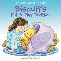 【预订】Biscuit's Pet & Play Bedtime A Touch & Feel Book