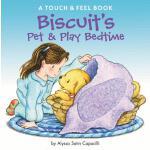 【预订】Biscuit's Pet & Play Bedtime A Touch & Feel Book