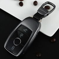 奔驰钥匙包E级新E200L/E300L/E320L/S级S320L男女钥匙壳扣套