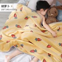 �和�毛毯�p�蛹雍穸�季小被子幼��@午睡������荷汉鹘q毯子 100cmX140cm
