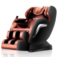 20190402155323560按摩椅家用全自动全身揉捏太空舱多功能老人豪华电动沙发椅 褐色