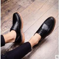 男士商务正装休闲皮鞋男韩版男鞋网红时尚新款工装英伦鞋子男潮鞋户外新品