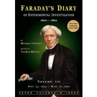 Faraday's Diary of Experimental Investigation - 2nd edition