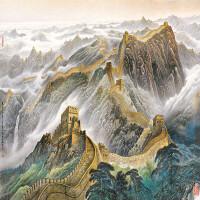 万里长城 装饰画 风景500/1000/1500片成人木质拼图礼物