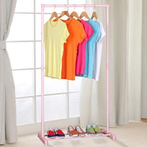亚思特晾衣架加粗钢管落地晾衣杆阳台单杆挂衣架晒衣架室内L101