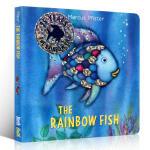 彩虹鱼 英文原版 The Rainbow Fish 纸板书 1993年凯特格林纳威奖 儿童情绪管理绘本 亲子故事绘本