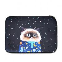 MOO星空睡衣猫苹果mac笔记本air13寸14寸15寸ipad手拿电脑内胆包 其它尺寸