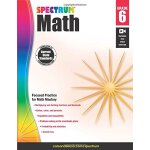 数学练习册,6年级 Spectrum Math Workbook, Grade 6