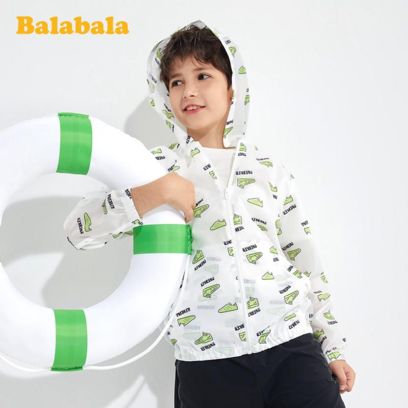 【2件6折价:83.94】巴拉巴拉女童外套2020新款春装童装中大童儿童男轻薄防晒服