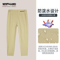 诺诗兰休闲弹力裤女士2021春夏新款户外防泼水透气运动NNPBN2102S