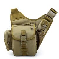 胸包男户外战术水壶包潮流运动单肩斜挎胸包迷彩背包