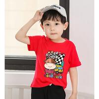 【3件2折价:32元】斯提妮童装 2021夏季男童t恤女 韩版儿童短袖 棉t恤运动童装T恤【支持礼品卡】