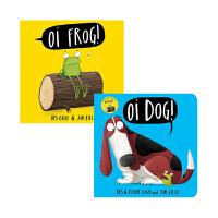 【中商原版】Oi Frog and Friends趣味故事绘本2册套装 英文原版 亲子共读 自然拼读