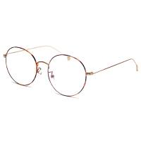 201808222342068482018新品眼镜男防护金丝眼镜小脸平光镜女电脑圆框眼睛超轻蓝光无度数