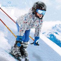 派克兰帝男童冲锋衣儿童滑雪服2017冬新款儿童登山服防水防寒棉服