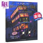 【中商原版】哈利・波特与阿兹卡班的囚徒(插图版)英文原版 Harry Potter and the Prisoner