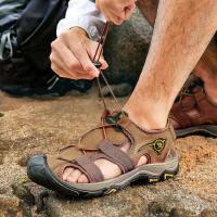 CAMEL骆驼户外男款沙滩鞋 春夏季野外休闲室内外男士凉鞋