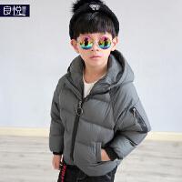男童棉衣2017新款童装装儿童加厚外套保暖面包服中大童上衣韩版
