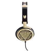 EDIFIER漫步者 H691音乐立体声折叠式头戴式耳机黑金
