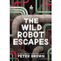 【现货】英文原版 疯狂机器人逃跑了 The Wild Robot Escapes 精装 9780316382045 冒