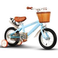 儿童自行车男孩3-6-7-8岁女童公主款宝宝童车女孩脚踏车小孩单车