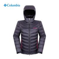 Columbia哥伦比亚户外女保暖热反射700蓬白鹅绒羽绒服PL5986