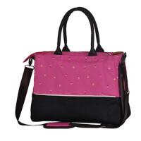 简约妈咪包单肩斜挎手提包大容量孕妇母婴包袋