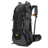 户外登山包60L大容量背包男女徙步露营旅行旅游行李包双肩背包客 60升