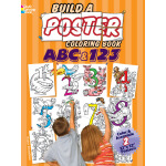 Build a Poster Coloring Book--ABC & 123