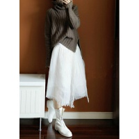 重磅我有全色山羊绒衫女加厚秋冬韩版慵懒宽松套头针织毛衣