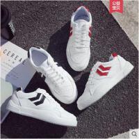 新款百搭平底板鞋帆布鞋女学生韩版原宿ulzzang小白鞋