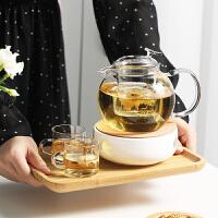 玻璃茶壶耐高温加厚泡茶杯红茶具套装 家用冲煮茶器过滤单壶烧水壶