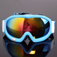 滑雪镜双层防雾球面大视野男女款登山滑雪眼镜可卡近视