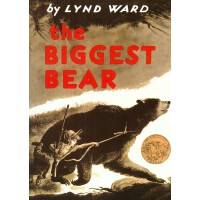 【中商原版】*的熊 The Biggest Bear 英文原版 林德瓦尔德 LyndWard 插图童书 绘本 1953