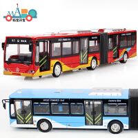 大号合金巴士双层公交车校车汽车模型旅游客车公共汽车儿童玩具车