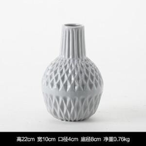 【每满100减50】幸阁 插花新款北欧辛多米陶瓷小花瓶 迷你花器