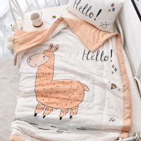 婴儿夏凉被儿童被子纯棉夏被可水洗棉花婴幼儿空调被午睡被子