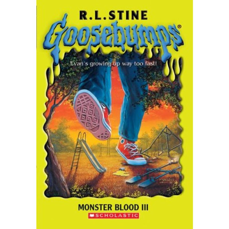 英文原版儿童书 Monster Blood III Goosebumps鸡皮疙瘩:怪兽之血3 ISBN:9780439891127