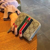风琴卡包女式多卡位拉链驾驶证卡包大容量卡片包短款钱包女